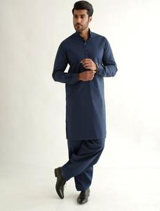 Bonanza Satrangi BLUE Color Kameez Shalwar For Man