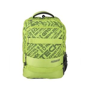 American Tourister Pack of 2 - At Dodge I Backpack + Pencil Case - Lime Green