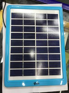 Lion 5W Solar Mobile Charging Plate with Multicable