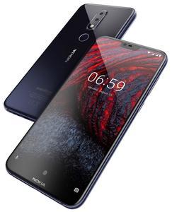 "Nokia 6.1 Plus - 4GB - 64GB - 4G - 5.8"" - Dual Camera - Blue"