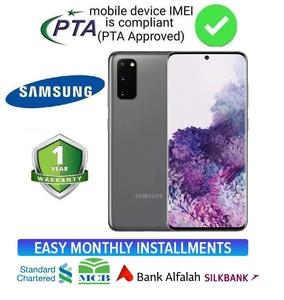 Samsung Galaxy S20 Dual Sim - 8GB RAM - 128GB ROM - 4000 mAh Battery With Official 1 Year Warranty