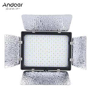 Andoer W300 Video Photography Light Lamp Panel 300 LEDs 6000K for Canon Nikon Pentax Sony (Alpha) Olympus Fujifilm DSLR Camera DV Camcorder