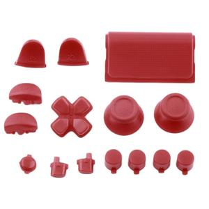 TE Replacement Buttons Custom Mod Kit For PS4 Playstation 4 Controller Solid Color