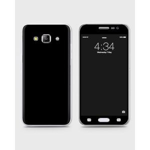 Samsung Galaxy J3 Pro Skin Wrap in Black color -1Wall23