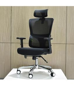 Executive Office Chair Ceo Headrest And Mesh Back