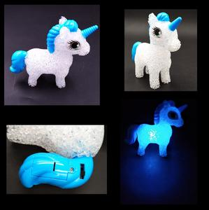 Assorted Color Unicorn Character LED Color Changing Night Light Table Lamp