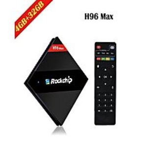 Tech ExpertH96 MAX - Android 7.1 Smart TV Box - 4GB 32GB Rockchip RK3399 Six Core