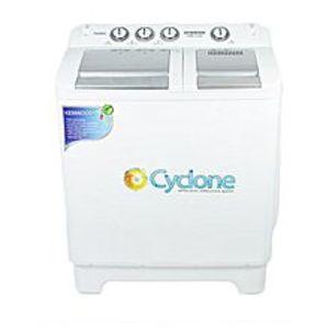 KenwoodDouble Tub Semi Automatic Washing Machine - KWM-1010 - White