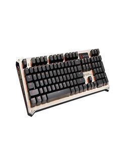B840  Bloody Optical Gaming Keyboard – Orange LED Backlit -Gold (Brand Warranty)