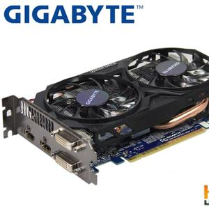NVDIA GIGABYTE GAMING GRAPHICS Card Original GTX 750 Ti 2GB 128Bit GDD5 FOR PUBG , FORTNITE , GTA 5 & DOTA ETC GAMING
