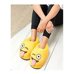 Emoji Slipper Plush Slippers Teasing Tongue Warm Comfortable