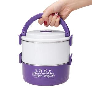 Loveliness 2 Layer Stainless Steel Portable Insulation Thermal Lunch Box