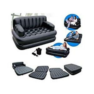 As seen on tv5 In 1 Sofa Bed - Black