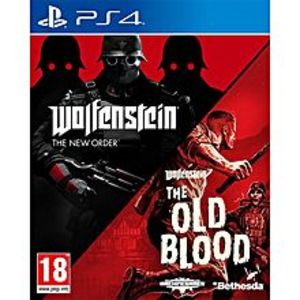 Bethesda Softworks Wolfenstein The New Order and The Old Blood Double Pack - PS4