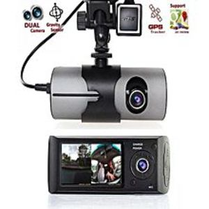Auto Transforms Store  Car DVR Camera Video Recorder Dash Cam G-Sensor Dual Lens