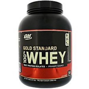 Optimum Nutrition100% Whey Protein - ON - Gold Standerd - 5LBS (Chocolate Flavor)