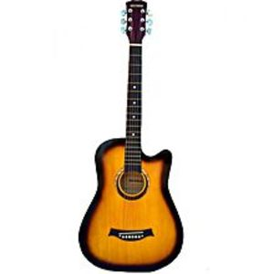 Victoria Victoria Semi Acoustic Guitar 39'' with 4 band EQ- Sunburst