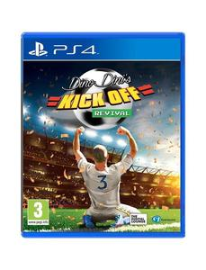 PLAYSTATION 4 DVD Dino Dini's Kick Off Revival PS4 GAME