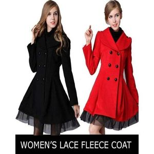 Buy One Lace Fleece Coat For Woman