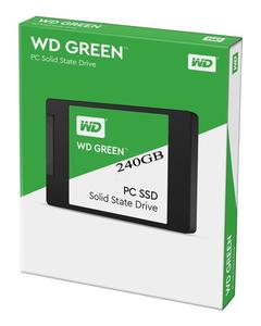 "Wd Green 2.5"" 240 Gb Sata3 Ssd"