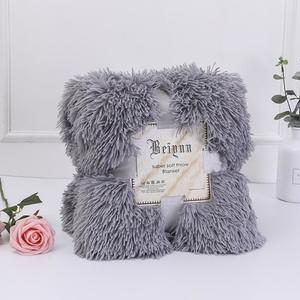 Large And Small Soft Autumn Winter Warm Shaggy Faux Fur Gift Double Bed Sofa Blanket