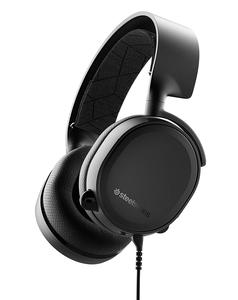 SteelSeries Arctis 3 (2019 Edition) All-Platform Gaming Headset for PC, PlayStation 4, Xbox One, Nintendo Switch, VR, Android, and Ios - Black (61503)