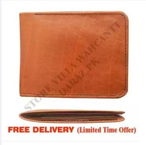 Leather Wallet For Men, Slim Wallet 6mm ,Vintage Design