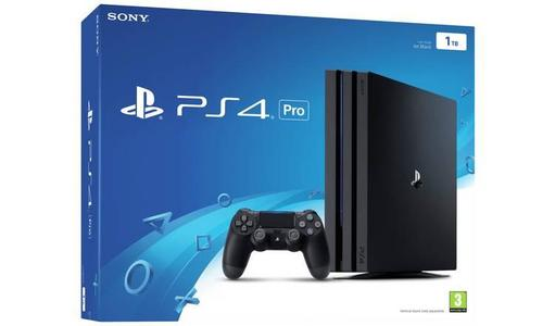 PlayStation 4 Pro 1TB - Region 2