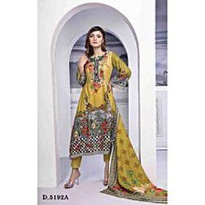 SITARA STUDIOMulticolour Classic Lawn Unstitched Suit For Women - 3Pcs