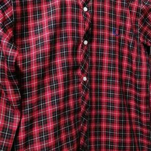 Casual Shirt - winter collection - Red checked