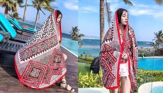 Multicolor Winter Shawl For Women