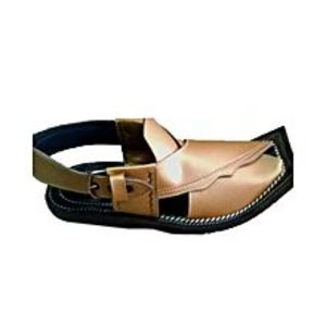 HRH fashion Golden Peshawari Sandal For Men
