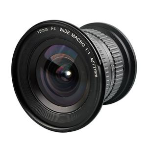 15mm F4.0 1:1 Wide-Angle Camera Lens Manual Zoom for Nikon Canon DSLR
