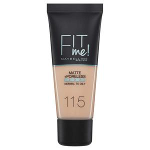 Maybelline Fit Me Matte & Poreless Foundation - 115 Ivory 30ml