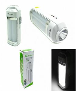 Rechargeable 2 Rod Flashlight with Torch - DP-7136