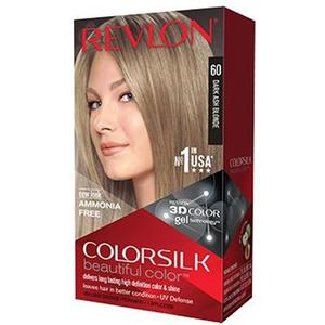 Color Silk 3D Technology USA For Men and Women No 60 Dark Ash Blonde