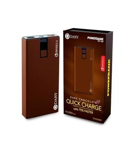 Power Bank Pb-108 (10,000Mah) Charges Upto 75% Faster - Brown