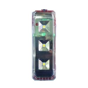 Sogo 251 - Rechargeable Led Light - Solar and Normal Electricity - RED