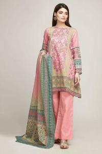 Khaadi Unstitched Replica Lawn Dress for Women