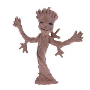 Escort Team Tree Man Figure Action Toy DIY Landscaping Doll