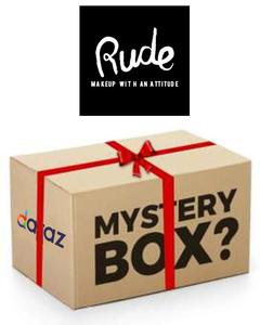 Rude Cosmetics Mystery Box 1 (Products Worth Rs. 2300)