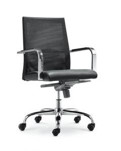 Cm-F80Bs Manager Chair - Black