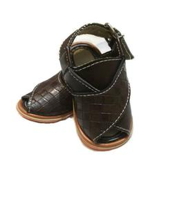 Baby'S Brown Peshawari Sandals