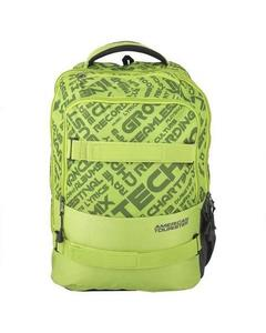 Pack of 2 - At Dodge I Backpack + Pencil Case - Lime Green