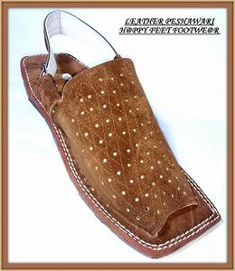 SALE 60% Stylish Leather Men /Boys Brown Peshawari Sandal(Same Product Will Deliver)