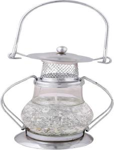 Candle Lamp - Silver
