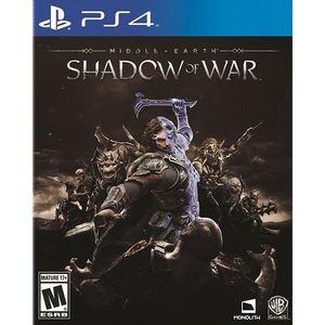 Warner Bros Middle-Earth: Shadow Of War - Standard Edition - PS4