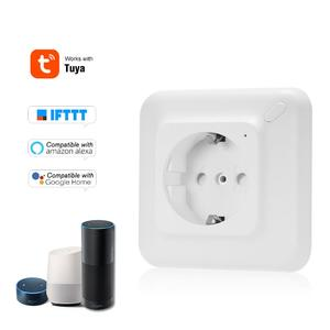 Mini Smart WiFi Socket EU Remote Control by Smart Phone from Anywhere Timing Function, Voice Control for Amazon Alexa and for Google Home IFTTT