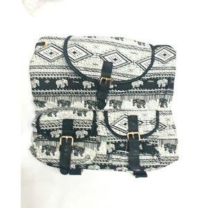 White College Bag For Girls