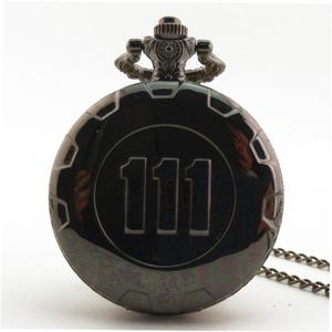 LALA Unisex Vintage Antique Round Dial Quartz Pocket Watch Necklace Pendant Clock